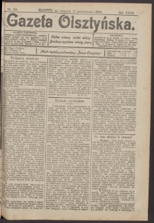 Gazeta Olsztyńska, 1908, nr 124