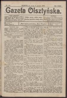 Gazeta Olsztyńska, 1908, nr 149