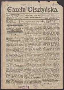 Gazeta Olsztyńska, 1909, nr 1