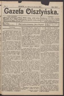 Gazeta Olsztyńska, 1909, nr 7