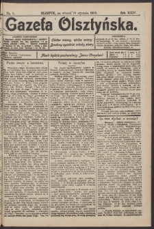 Gazeta Olsztyńska, 1909, nr 8