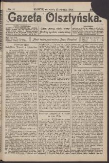 Gazeta Olsztyńska, 1909, nr 10