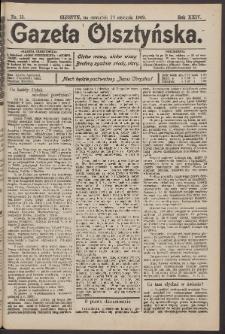 Gazeta Olsztyńska, 1909, nr 13