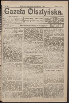 Gazeta Olsztyńska, 1909, nr 14