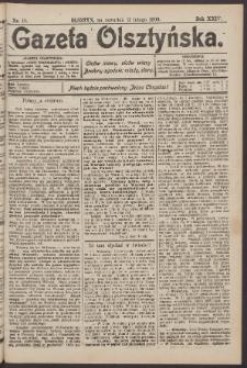 Gazeta Olsztyńska, 1909, nr 19