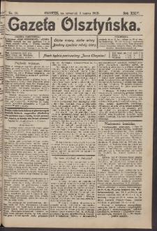 Gazeta Olsztyńska, 1909, nr 28
