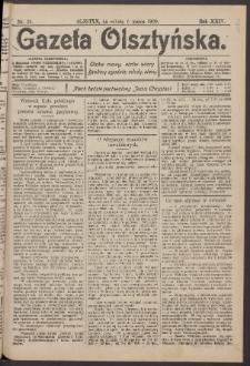 Gazeta Olsztyńska, 1909, nr 29
