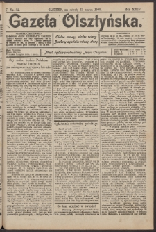Gazeta Olsztyńska, 1909, nr 32