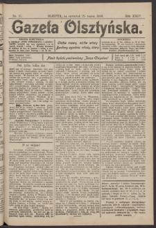 Gazeta Olsztyńska, 1909, nr 37