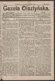 Gazeta Olsztyńska, 1909, nr 40