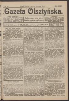 Gazeta Olsztyńska, 1909, nr 42