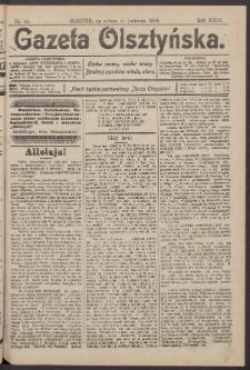 Gazeta Olsztyńska, 1909, nr 44