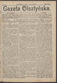 Gazeta Olsztyńska, 1909, nr 65