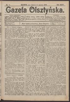 Gazeta Olsztyńska, 1909, nr 73