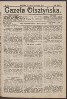 Gazeta Olsztyńska, 1909, nr 74