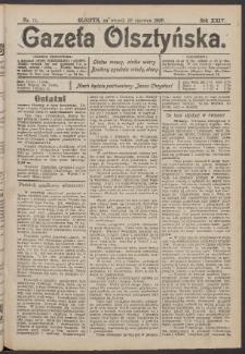 Gazeta Olsztyńska, 1909, nr 75