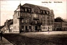 """Hotel """"Masovia"""" w Mrągowie. [1]"""
