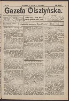 Gazeta Olsztyńska, 1909, nr 81
