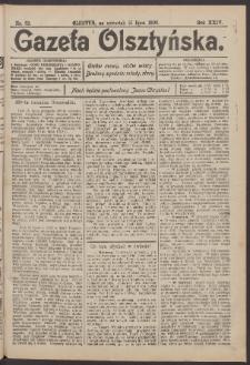 Gazeta Olsztyńska, 1909, nr 82