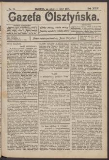 Gazeta Olsztyńska, 1909, nr 83
