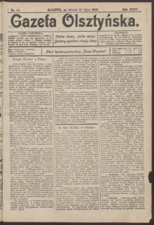 Gazeta Olsztyńska, 1909, nr 84