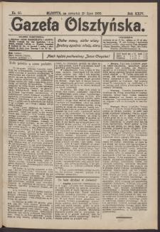 Gazeta Olsztyńska, 1909, nr 88