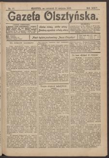 Gazeta Olsztyńska, 1909, nr 97