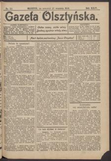 Gazeta Olsztyńska, 1909, nr 112