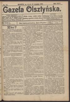 Gazeta Olsztyńska, 1909, nr 114