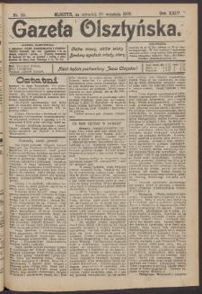Gazeta Olsztyńska, 1909, nr 115