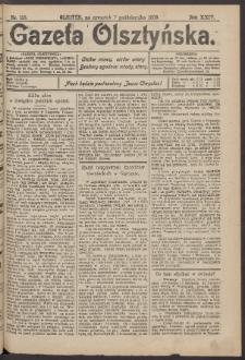 Gazeta Olsztyńska, 1909, nr 118