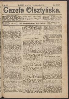 Gazeta Olsztyńska, 1909, nr 119