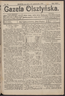 Gazeta Olsztyńska, 1909, nr 125