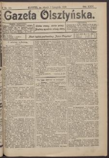 Gazeta Olsztyńska, 1909, nr 132