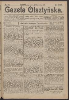 Gazeta Olsztyńska, 1909, nr 137