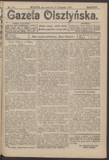 Gazeta Olsztyńska, 1909, nr 139
