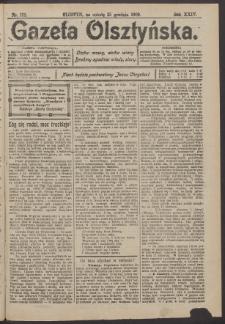 Gazeta Olsztyńska, 1909, nr 152