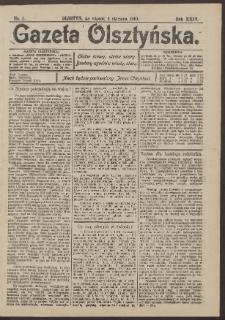 Gazeta Olsztyńska, 1910, nr 2