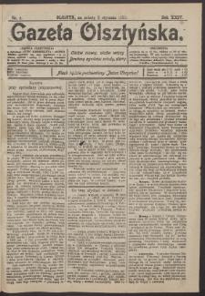 Gazeta Olsztyńska, 1910, nr 4