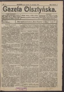 Gazeta Olsztyńska, 1910, nr 5