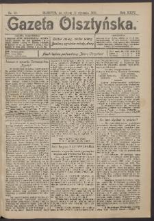 Gazeta Olsztyńska, 1910, nr 10