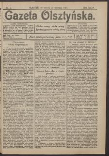 Gazeta Olsztyńska, 1910, nr 11