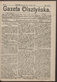 Gazeta Olsztyńska, 1910, nr 21