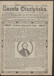 Gazeta Olsztyńska, 1910, nr 23