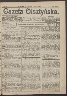 Gazeta Olsztyńska, 1910, nr 27