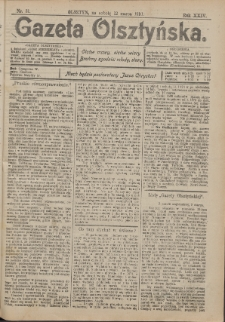 Gazeta Olsztyńska, 1910, nr 31