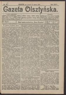Gazeta Olsztyńska, 1910, nr 35