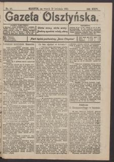 Gazeta Olsztyńska, 1910, nr 46