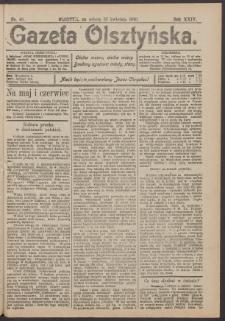 Gazeta Olsztyńska, 1910, nr 48