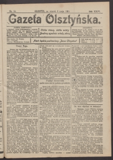 Gazeta Olsztyńska, 1910, nr 52